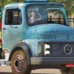 Skins Mercedes 1313 Antigo Com Pintura 'VELHA'