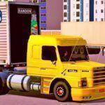 Skins Scania 113 Amarela No Bau Cromado