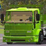 Skins Ford Cargo Verde Com Pintura Especial