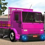 Skins Ford Cargo Truck Rosa 'EXCLUSIVO'