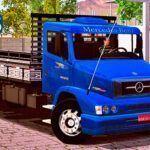 Skins Mercedes-Benz 1620 Azul 'ESTILO ORIGINAL COM FAIXAS'