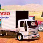 Skins Ford Cargo Truck Bau 'EXCLUSIVO FRETES E MUDANÇAS'