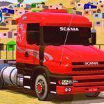 Skins Scania 124G Vermelha Edição Especial 'EXCLUSIVA'
