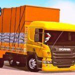 Skins Scania PZINHA Amarela EXCLUSIVA COM RODAS DE ALUMINIUM'