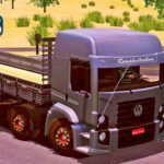Skins VW Constellation Bitruck Cinza Com Rodas 'QUALIFICADAS'