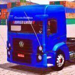 Skins VW Constellation Azul Escuro com Rodas De Aluminium