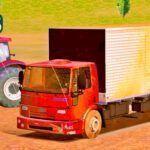 Skins Ford CARGO Truck no Bau Vermelho 'SUJO'