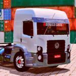 Skins VW Constellation Branco Com Detalhes TOP