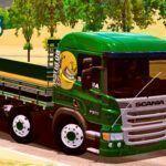 Skins Scania Pzinha Verde 'VERDUREIRA QUALIFICADA'