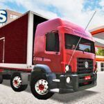Skins VW Constellation Truck Bau Vermelho 'QUALIFICADO'
