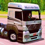Skins Mercedes Benz Axor Branco 'EXCLUSIVO'