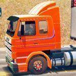 Skins Scania 113 Frontal Laranja 'QUALIFICADA'