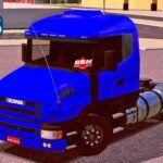 Skins Scania G124 Azul Escuro GBN