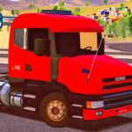 Skins Scania G124 Vermelha