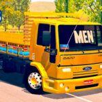 Skins Ford Cargo 2422 Amarelo Verdureiro 'QUALIFICADO'