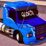Skins Scania 113 Azul Grafitada 'MAIS QUALIFICADA'