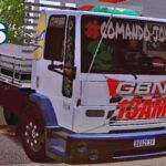 Skins Ford Cargo Branco Verdureiro Mais 'QUALIFICADO'