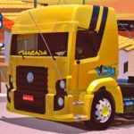 Skins VW Constellation Amarelo 'MAIS TOP WTDS'