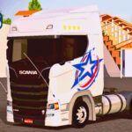 Skins Scania S Branca Com Pintura 'ESPECIAL MAIS TOP WTDS'