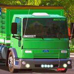Skins Ford Cargo Verde Clarinho 'VERDUREIRO MAIS TOP'