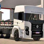 Skins VW Constellation Branco no Truck Com Detalhes 'QUALIFICADO'