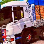 Skins Scania PZINHA BRANCA VERDUREIRA 'MAIS TOP WTDS'