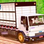 Skins Ford Cargo Boiadeiro 'QUALIFICADO' Com Rodas Sujas