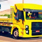 Skins VW Constellation Amarelo Grafitado Truck 'MAIS TOP'