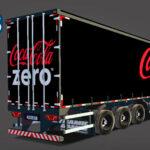 Skins Reboque Sider Coca-Cola Zero