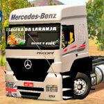 Skins Mercedes Benz Axor Com Faixa e Adesivo Personalizado