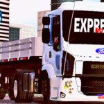 Skins Ford Cargo Modelo Novo Branco 'EXCLUSIVA' (Skin para volvo Vm)