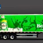 Skins Reboque Bau Heineken