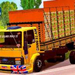Skins Ford Cargo Amarelo 'MODELO ANTIGO' VERDUREIRO