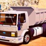 Skins Ford Cargo Cinza Modelo Antigo Caçamba  'QUALIFICADO'