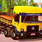 Skins VW Constellation Amarelo Tomateiro 'QUALIFICADO'