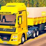 Skins VW Meteor Amarelo no Bitrem Basculante 'CONJUNTO MAIS TOP'