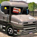 Skins Scania G124 CINZA No Bitrem Madeireiro Invisivel
