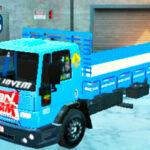 Skins Ford Cargo Azul Verdureiro Qualificado Com Bandeira GBN