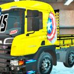 Skins Scania Pzinha Amarela Qualificada Verdureiro
