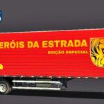 Skins Reboque Bau 'EDIÇAO ESPECIAL HEROIS DA ESTRADA'