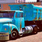 Skins Scania 111 Top Com Pintura Toda Velha Desgastada
