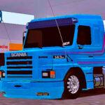 Skins Scania 143 BRUNO GARCIA 'MAIS TOP'