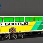 Skins Reboque Carregado Com Ônibus da Gontijo