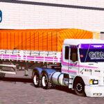 Skins Scania 113 Faixas Originas Na Granel Lonada