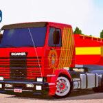Skins Scania 113 Frontal Conjunto dos BOMBEIROS