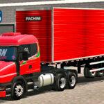Skins Scania G124 Vermelha No Bau 'QUALIFICADO'