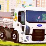 Skins Ford Cargo Modelo Novo Branco Estilo Verdureiro
