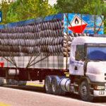 Skins Scania 124G Sujo Na Carreta Rodotrem Carga Realista de Carvão